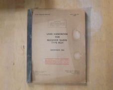 R234.Radio receiver.User handbook